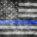 USA Blue Line Flag
